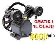 Sprężarka olejowa kompresor pompa powietrza 400L/min