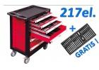 Szafka narzędziowa YATO 217el wózek YT-5530+GRATIS