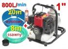 pompa spalinowa motopompa wp10+węże 8m+20m do wody