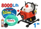 pompa spalinowa motopompa marpol+ 4m+50m+węże do wody+olej