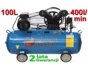 Kompresor olejowa sprężarka 100L 2 tłoki V-0.25/8 RIPPER
