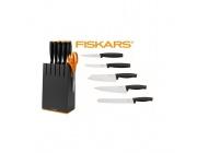 Komplet noży FISKARS 1014190 6 el. noże w bloku