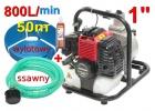 pompa spalinowa motopompa WP-10+węże do wody+olej
