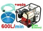 pompa spalinowa motopompa do wody XGP20 ripper+węże