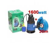 Pompa do wody czystej brudnej szamba kd751 kraft&dele+wąż 1cal x30m
