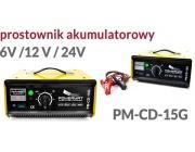 PROSTOWNIK AKUMULATOROWY ŁADOWARKA PM-CD-15G POWERMAT