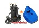 POMPA 2960W MAR-POL+50m węża do wody brudnej szamba+ROZDRABNIACZ