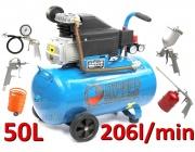 Kompresor olejowy 50L Ripper FL-2550 sprężarka+kit