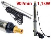Pompa głębinowa pompy do wody ciśnieniowa 1,1kW 75mm 3cale