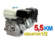 Silnik spalinowy+reduktor 1/2 zagęszczarka 5,5KM