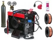 Spawarka Migomat MIG / MAG 220A Pro z akcesoriami