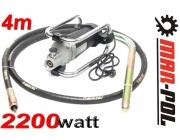 Wibrator do betonu 2200W 4m buława  zagęszczarka JY-160 Marpol