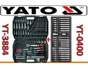 YATO ZESTAW NARZĘDZIOWY 216 CZ. YT-3884 + YT 0400
