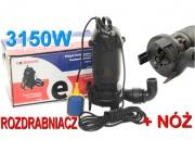 Pompa do wody szamba rozdrabniacz 3150W