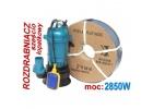 Pompa do wody szamba termik rozdrabniacz kd754 kraft&dele+wąż 2