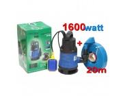 Pompa do wody czystej brudnej szamba kd751 kraft&dele+wąż 1