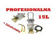 Smarownica nożna 15L Profesjonal tawotnica+2 końcówki
