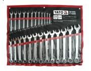 YATO Klucze yt-0365 płasko-oczkowe 25 szt 6-32 mm