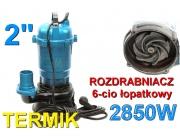 Pompa do wody szamba termik rozdrabniacz kd755 kraft&dele