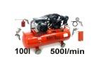 Kompresor olejowy sprężarka kraft&dele kd402+Zestaw