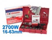 Zgrzewarka do rur PP PCV Heidmann H00501 7- matryc