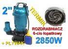 Pompa do wody szamba termik rozdrabniacz kd754 kraft&dele